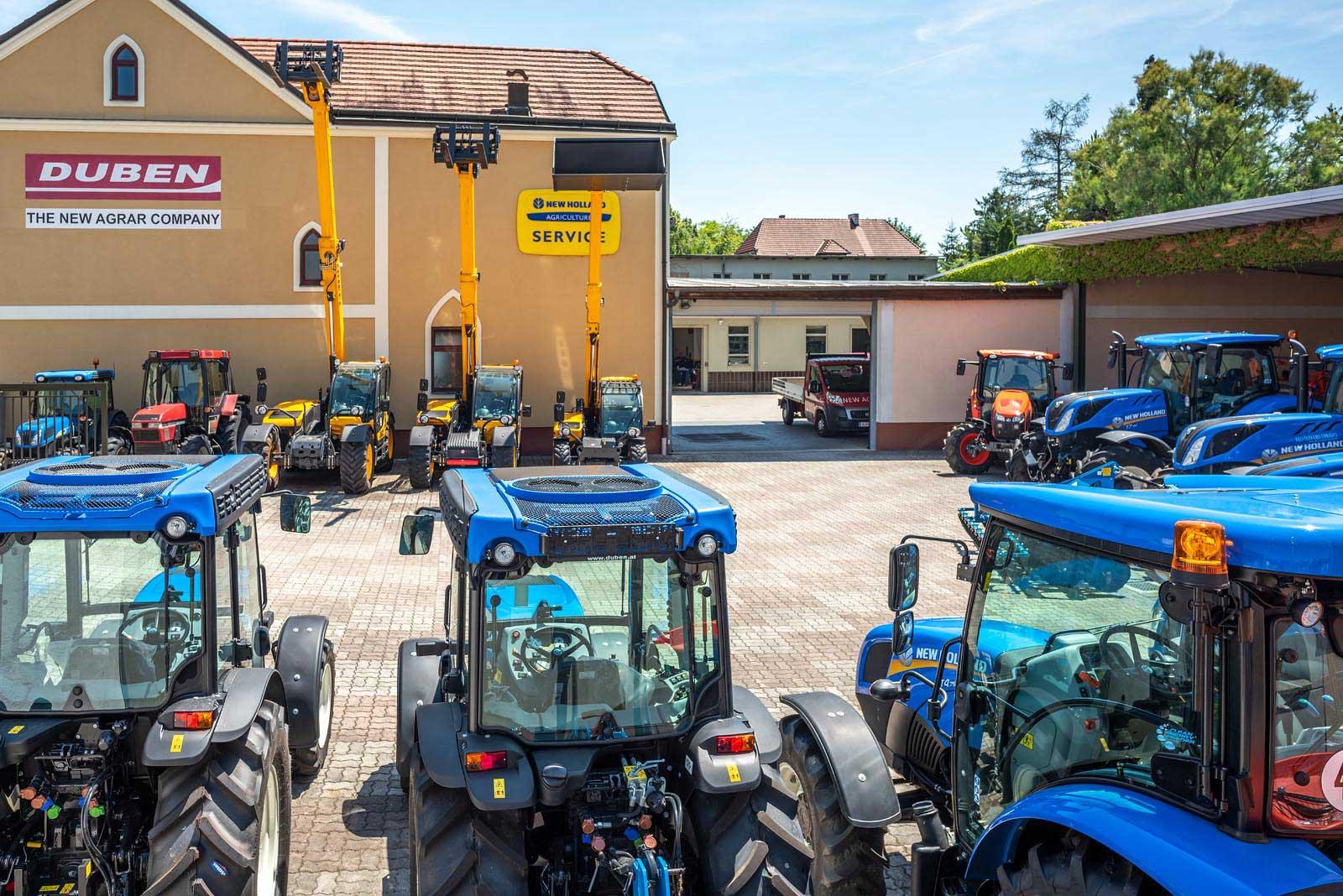 Der Ausstellungsplatz in Ziersdorf. © Reinhard Podolsky